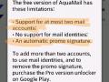 AquaMail - About pro