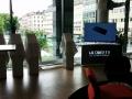 Tildækkede LG G3'er i baggrunden