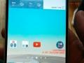Forsiden af LG G3 i hvid