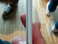 Højre side af LG G3 - med udskæring til at tage cover af
