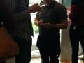 Et par danske LG-ambassadører - Morten og Kenneth - i fuld gang med at teste