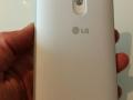 """LG G3 med """"bumper-cover"""" monteret"""