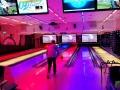 Efter middagen var der dømt bowling - tydeligt at se, at de fleste IT-nørder ikke har bowling som spidskompetence (gælder også undertegnede)