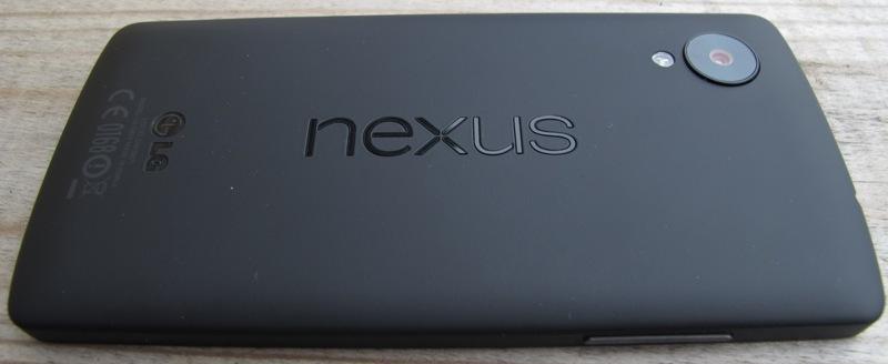 Nexus 5 - Bagside