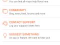 Support-side i app