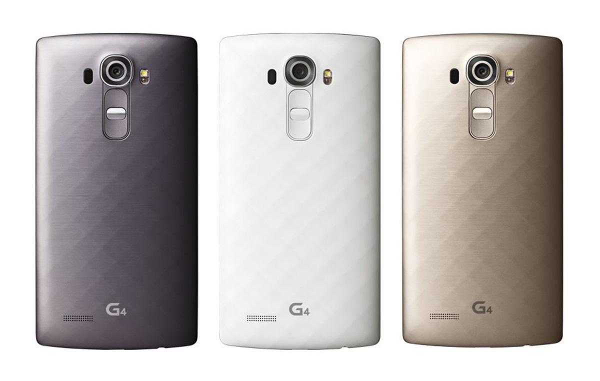 LG G4 læk - plastic