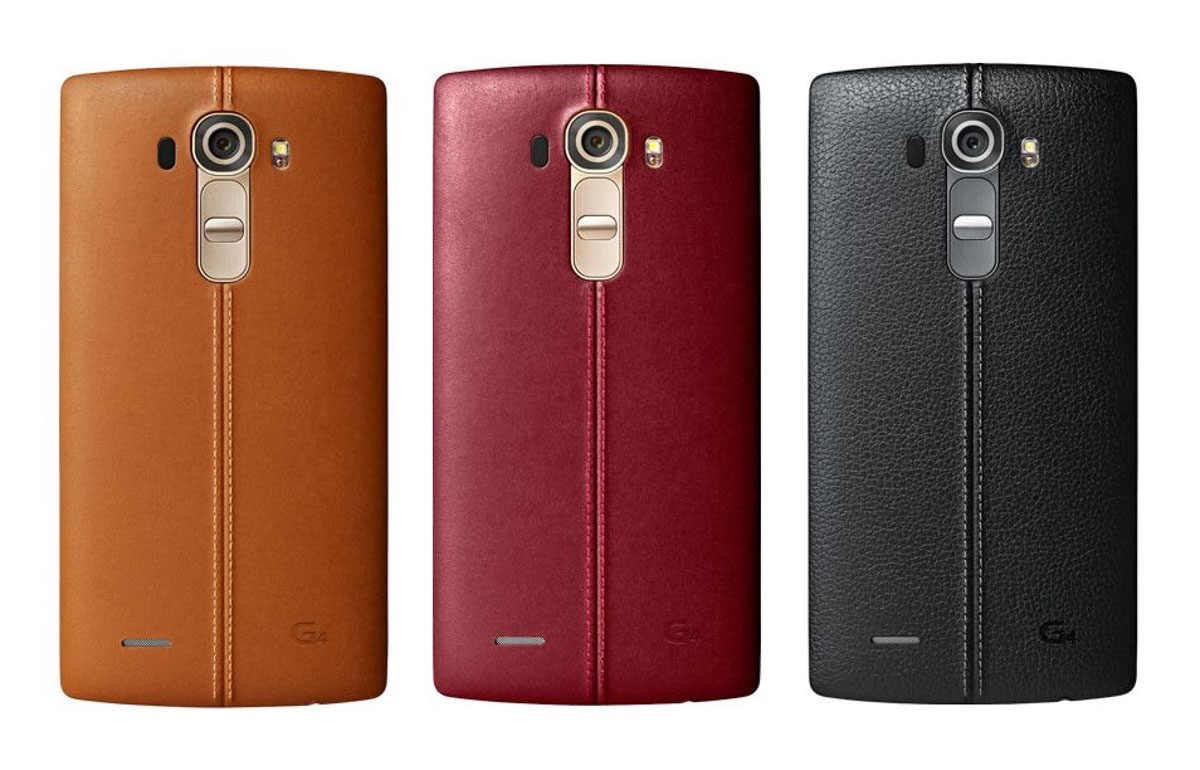 LG G4 læk - læder