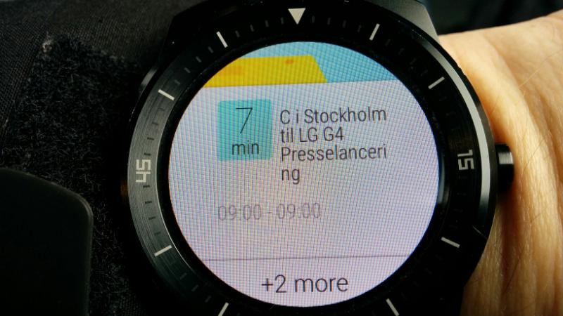 LG G4 Presselancering på G Watch R